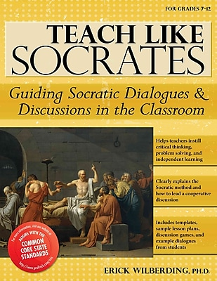 Sourcebooks Teach Like Socrates Book, Grades 7 - 12