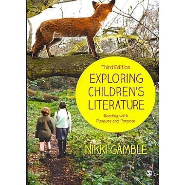 Sage Publications Exploring Children's Literature Paperback Book