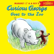 "Houghton Mifflin Harcourt ""Curious George Goes..."" Book With Downloadable Audio, Grade PreK - 3rd"