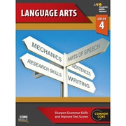 "Houghton Mifflin Harcourt ""Steck-Vaughn Core Skills Language Arts"" Workbook, Grade 4th"