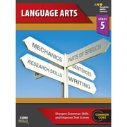 "Houghton Mifflin Harcourt ""Steck-Vaughn Core Skills Language Arts"" Workbook, Grade 5"