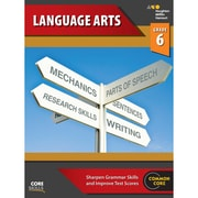"Houghton Mifflin Harcourt ""Steck-Vaughn Core Skills Language Arts"" Workbook, Grade 6th"