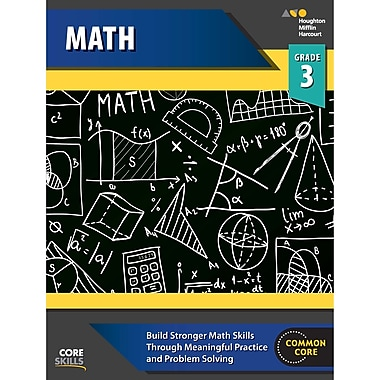 Houghton Mifflin Harcourt Core Skills Mathematics Workbook, Grade 3