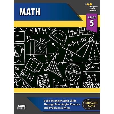 Houghton Mifflin Harcourt Core Skills Mathematics Workbook, Grade 5