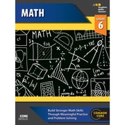 Houghton Mifflin Harcourt Core Skills Mathematics Workbook, Grade 6