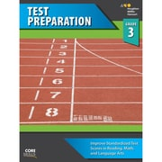 "Houghton Mifflin Harcourt ""Steck-Vaughn Core Skills Test Preparation"" Workbook, Grade 3rd"