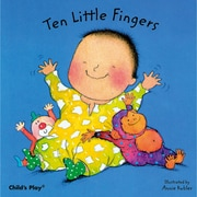 "Childs Play® ""Ten Little Fingers"" Baby Board Book"