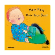 "Childs Play® ""Row, Row, Row Your Boat"" Baby Board Book"