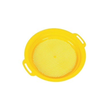 American Educational Sand and Water Toy Sieve, Yellow