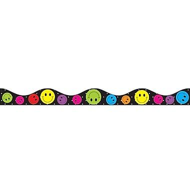 Ashley Kindergarten - 12th Grade Magnetic Border, Smile Faces
