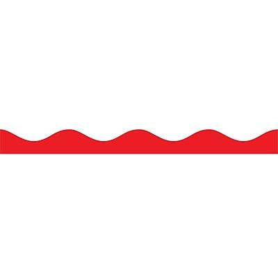 Ashley Kindergarten - 12th Grade Magnetic Border, Red, 12/Pack