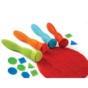 Center Enterprises Ready2Learn™ Easy Grip Geometric Stamper, Assorted, 4/Set (CE-6677)