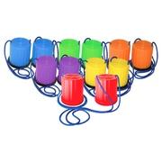 Champion Sports – Échasses en plastique, couleurs variées, 6/paquet (CHSPPSSET)