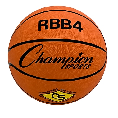 Champion Sports Intermediate Pro Rubber Basketball (CHSRBB4)