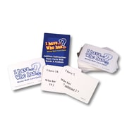 Learning Advantage™ I Have.. Who Has? Addition/Subtraction..., Words & Symbols Math Card Game