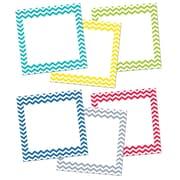 Creative Teaching Press - Cadres stylisés de 10 po, motif à chevrons, 12/paquet (CTP0956)