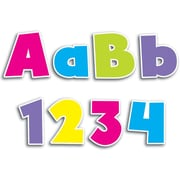 """Creative Teaching Press® 4"""" Punch-Out Designer Letter, Bold Brights"""