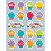 Creative Teaching Press® HexaFun Sticker, Happy Birthday