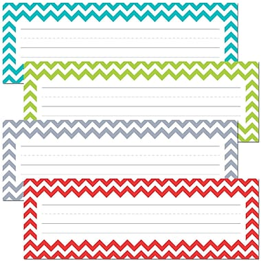 Creative Teaching Press® All Grade Solids Name Plate, Chevron