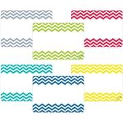 Creative Teaching Press® All Grade Solids Label, Chevron, 36/Pack