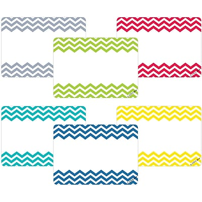 Creative Teaching Press® All Grade Solids Label, Chevron, 36/Pack