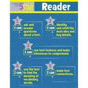 Creative Teaching Press® 5-Star Reader Common Core Chart, Grades 3 - 5
