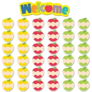 Creative Teaching Press® Mini Bulletin Board Set, HexaFun Welcome Apples, 37/Pack