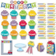 Creative Teaching Press – Mini ensemble à babillard, « Happy Birthday » amusant, 54/paquet (CTP6958)