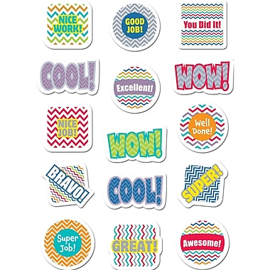 Creative Teaching Press® Reward Sticker, Chevron