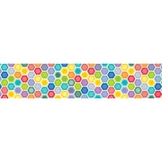 "Creative Teaching Press 7112 35' x 3"" Straight Hexagons Border, Multicolor"