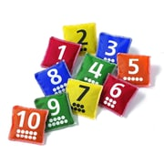 Learning Advantage™ Number & Dot Bean Bags Game, 10/Pack