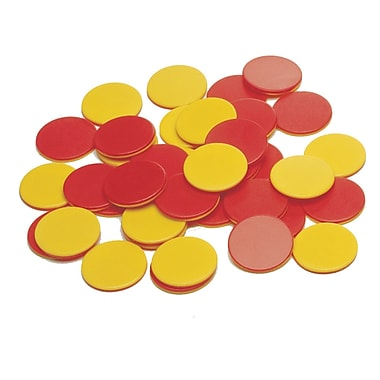 Learning Advantage Two Colour Plastic Counters, 200/Pack (CTU7209)