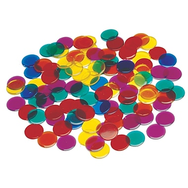 Learning Advantage Transparent Counters, 1000/Pack (CTU7221)