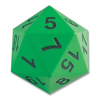 Learning Advantage™ Jumbo 20-Sided Demonstration Die Game