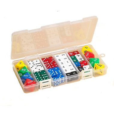 Learning Advantage Classroom Dice Set Game, 56/Pack (CTU7368)