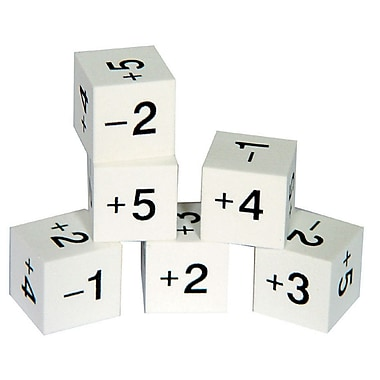 Learning Advantage™ Foam Positive & Negative Number Dice Game