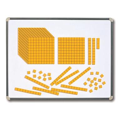 Learning Advantage Magnetic Foam Base Ten Blocks, Grade 1st - 6th