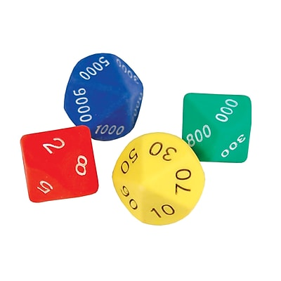 Learning Advantage™ Place Value Dice Game