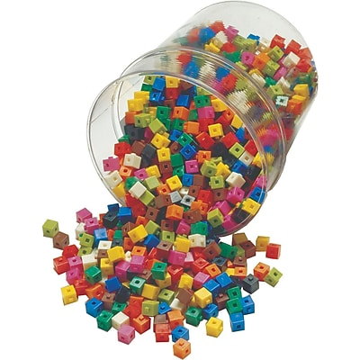 Learning Advantage™ Interlocking Centimeter Cubes, 1000/Pack