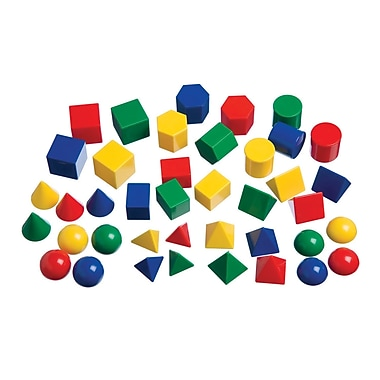 Learning Advantage™ Mini Geometric Solids, 40/Set (CTU7749)