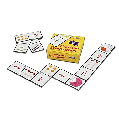 Learning Advantage™ Fraction Dominoes Game