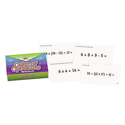 Learning Advantage™ Flash Card, Order of Operations