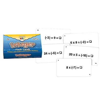 Learning Advantage™ Flash Card, Integer