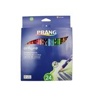 Dixon Ticonderoga® Prang Groove Colored Pencil, 24/Pack