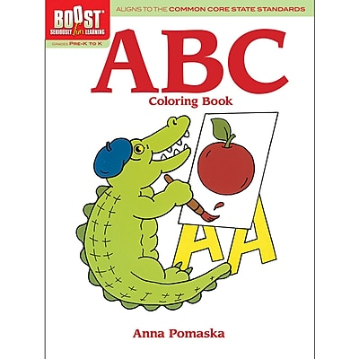 Dover® Boost™ ABC Coloring Book