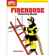 Dover® Boost™ Firehouse Coloring Book
