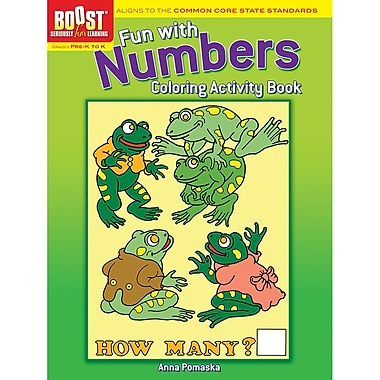 Dover Boost Fun with Numbers Colouring Activity Book (DP-494063)