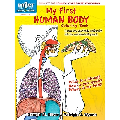 Dover® Boost™ My First Human Body Coloring Book