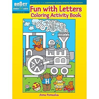 Dover Boost – Livre d'activité à colorier « Fun with Letters » (DP-494128)