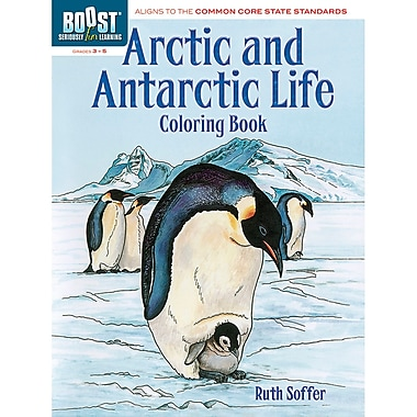Dover Boost Arctic And Antarctic Life Colouring Book (DP-494306)